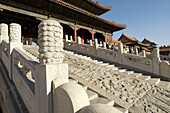 Gate of Supreme Harmony (Tai He Men) The Forbidden City. Imperial palace. Beijing city (capital). China. Asia.