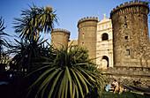 The New Castle (Castel Novo). Naples city. Province of Campania. Italia.