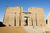 Temple of Horus, Edfu, Egypt.