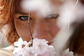 aces, Facial expression, Facial expressions, Facing camera, Female, Flower, Flowers, Generation X, Gi