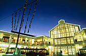 Victoria and Alfred Waterfront Shopping Mall. Cape Town. South Africa