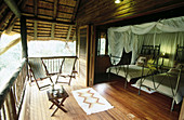 Tree lodge in Ubizane Wildlife Reserve. KwaZulu-Natal. South Africa
