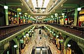 Arcades in Queen Victoria Building. Sydney. Australia