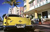 Art Deco district. Miami Beach. Florida. USA.