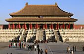 Hall of Supreme Harmony (Tai He Dian), Forbidden City. Beijing. China