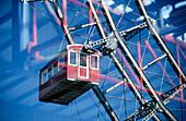 Big wheel, Prater amusement park. Vienna. Austria