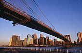 Brooklyn Bridge, Manhattan, NYC. USA