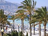 Alfaz del Pi beach. Alicante province. Comunidad Valenciana. Spain