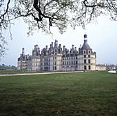 Chambord Castle. Loire. Val-de-Loire, France