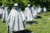 Korean War Memorial, Washington D.C. USA