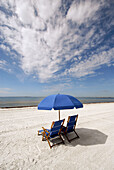 Fort Myers Beach is a popular tourist snowbird student spring break destination recreation and vacation holiday. Florida, USA