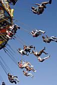 Carnival Ride at Strawberry Festival Parade. Plant City Florida. USA.