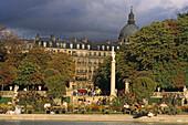 Jardin du Luxembourg, largest public park in Paris, 6e Arrondissement, Paris France