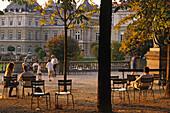 Jardin du Luxembourg, largest public park in Paris, 6e Arrondissement, Paris, France