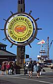 USA CA San Francisco fishermans wharf