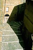 Lane. Pitigliano. Tuscany, Italy