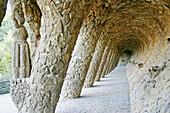 Parc Güell by Gaudí. Barcelona. Spain