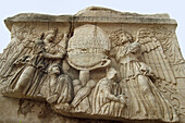 Relief. Roman Forum. Rome. Italy