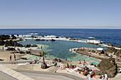 Natural swimming pools. Porto Moniz. Madeira. Portugal.