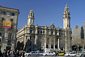 Central post office building. Barcelona. Catalonia. Spain