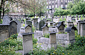 Remuh Synagogue cemetery. Jewish quarter. Kazimierz. Krakow. Poland