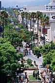 3rd Street Promenade. Santa Monica. Los Angeles. USA.