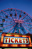 The Wonder Wheel. Coney Island, Brooklyn. New York. USA