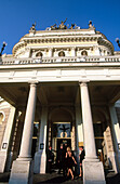 Slovak National Theatre in Bratislava. Slovakia