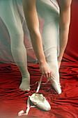 Adult, Adults, Art, Arts, Ballerina, Ballerinas, Ballet, Ballet Slipper, Color, Colour, Contemporary, Dance, Dancer, Dancers, Dress, Dressing, Elegance, Elegant, Excellence, Feet, Female, Foot, Grace, Graceful, Gracefulness, Human, Indoor, Indoors, Interi