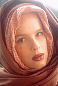 loseup, Color, Colour, Contemporary, Eighties, Face, Faces, Facing camera, Female, Generation X, Head