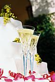Beverage, Beverages, Celebrate, Celebrating, Celebration, Celebrations, Champagne, Close up, Close-up, Closeup, Color, Colour, Concept, Concepts, Daytime, Detail, Details, Drink, Drinks, Elegance, Elegant, Exterior, Glass, Glasses, Marriage, Matrimony, Ob