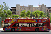 Palma City Sightseeing Bus, Palma, Mallorca, Balearic Islands, Spain