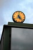 Urban clock. Helsinki. Finland