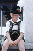 Boy from Garmisch. Bavaria. Germany