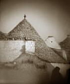 Trulli (typical stone dwellings). Alberobello. Puglia, Italy