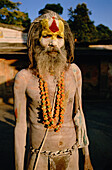 Sadhu (Holy man), Pashupatinath temple. Kathmandu. Nepal