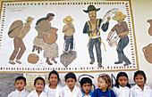 Lenca children in La Campa. Honduras.