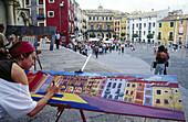 Plaza Mayor. Cuenca. Castilla La Mancha. Spain.