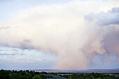 Thunder clouds. Utah. USA