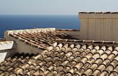 Aussen, Außen, Dach, Dächer, Farbe, Haus, Häuser, Horizont, Horizontal, Horizonte, Küste, Meer, Wasser, M44-361503, agefotostock