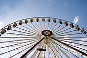 Big wheel. Prater amusement park. Vienna. Austria