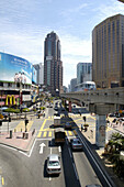 Kuala Lumpur, Malaysia, Asia, South East Asia, capital city, Bukit Bintang, urban, LRT, traffic, transport
