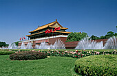 Tiananmen, Gate of heavenly peace. Beijing. China