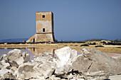 Salt pans, Trapani. Sicily, Italy