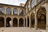 Palazzo dellArchiginnasio, Bologna. Emilia-Romagna, Italy