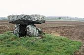 Menez Lie dolmen. Finistère, Brittany, France