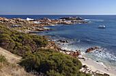 Coastal scenery near Canal Rocks, Leeuwin-Naturaliste National Park, Margaret River region, Western Australia, Australia