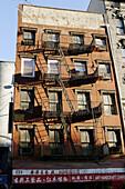 Escape route, Chinatown, New York City, USA
