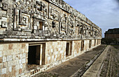 Nunnery Quadrangle, Uxmal, Yucatan, Mexico