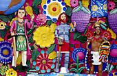 Figures, Día de los Muertos holiday. Mexico